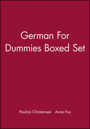 German for Dummies, Boxed Set