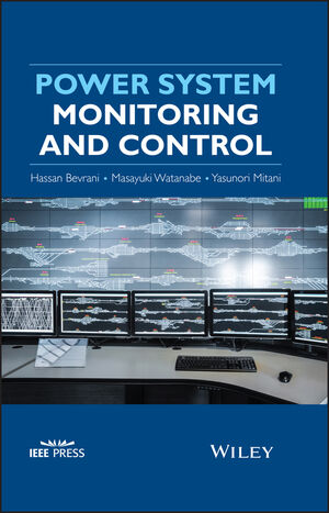 Power System Monitoring and Control (1118450698) cover image