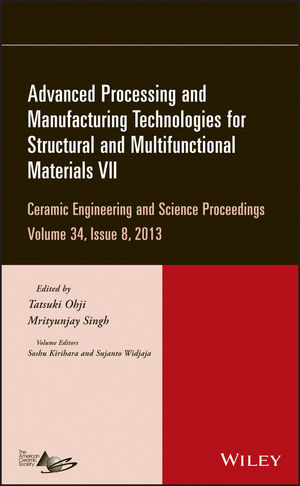 Advanced Processing and Manufacturing Technologies for Structural and Multifunctional Materials VII, Volume 34, Issue 8 (1118807898) cover image