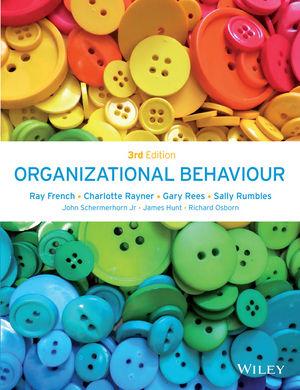 Organizational Behaviour, 3rd Edition (1118916298) cover image
