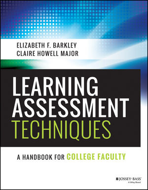 Learning Assessment Techniques: A Handbook for College Faculty (1119050898) cover image