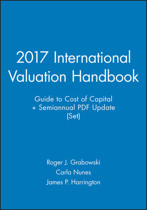 2017 Valuation Handbook - International Guide to Cost of Capital + Semiannual PDF Update (Set) (1119366798) cover image