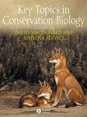 Key Topics in Conservation Biology (1405122498) cover image