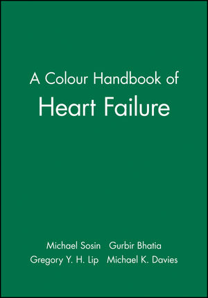 A Colour Handbook of Heart Failure (1405158298) cover image