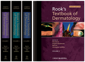 Rook's Textbook of Dermatology, 4 Volume Set, 8th Edition
