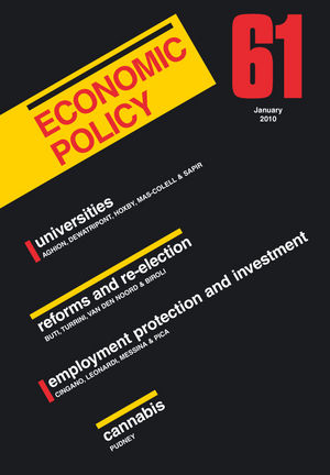 Economic Policy 61 (1405196998) cover image
