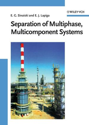 Separation of Multiphase, Multicomponent Systems (3527611398) cover image