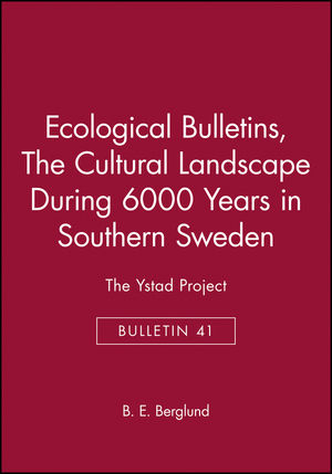 Ecological Bulletins, Bulletin 41, The Cultural Landscape During 6000 Years in Southern Sweden: The Ystad Project