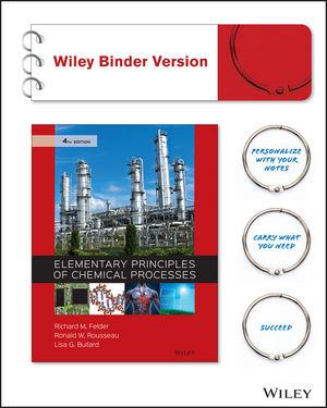 Elementary Principles of Chemical Processes 4th Edition (EHEP003498) cover image