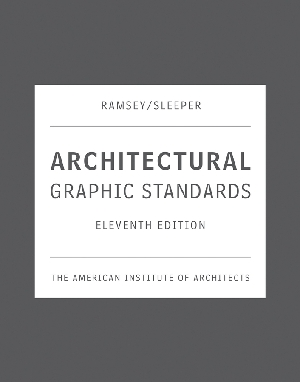 Architectural Graphic Standards 11th Edition Online Version (WS100098) cover image