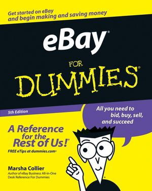 eBay For Dummies, 5th Edition (0470045299) cover image
