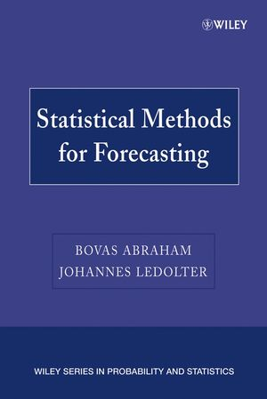 Statistical Methods for Forecasting (0470317299) cover image