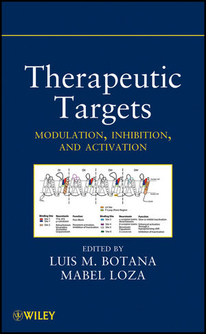 Therapeutic Targets: Modulation, Inhibition, and Activation (0470587199) cover image