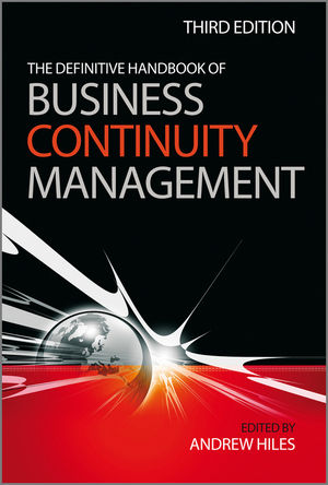 The Definitive Handbook of Business Continuity Management, 3rd Edition (0470710799) cover image