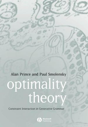 Optimality Theory: Constraint Interaction in Generative Grammar (0470759399) cover image