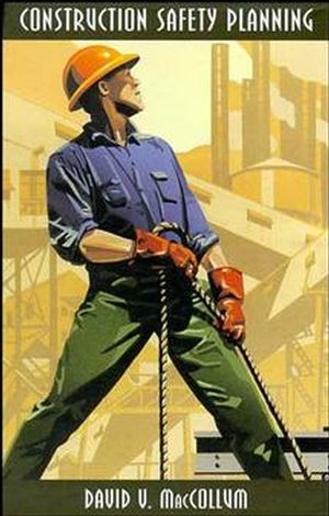 Construction Safety Planning (0471286699) cover image