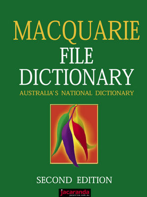 Macquarie File Dictionary, 2nd Edition