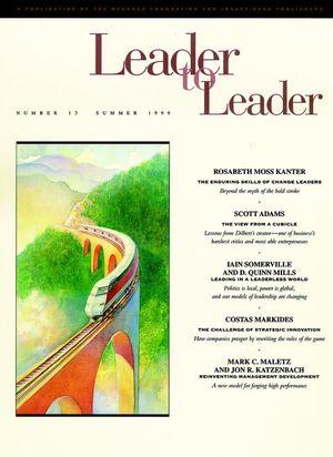 Leader to Leader (LTL), Volume 13, Summer 1999