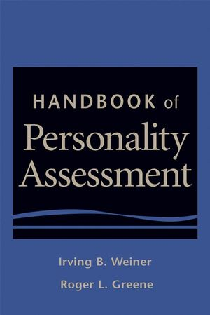 Handbook of Personality Assessment (1118045599) cover image