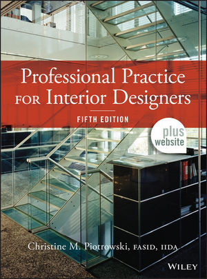 Professional Practice For Interior Designers 5th Edition 1118090799 Cover Image