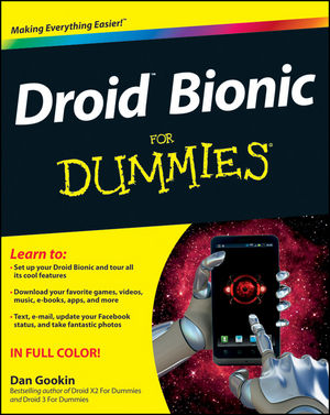 Droid Bionic For Dummies (1118232399) cover image