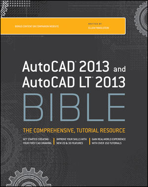 AutoCAD 2013 and AutoCAD LT 2013 Bible (1118328299) cover image