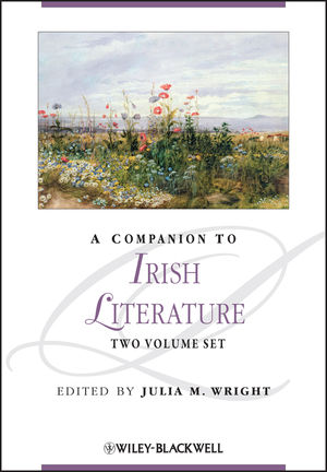 A Companion to Irish Literature (1444351699) cover image