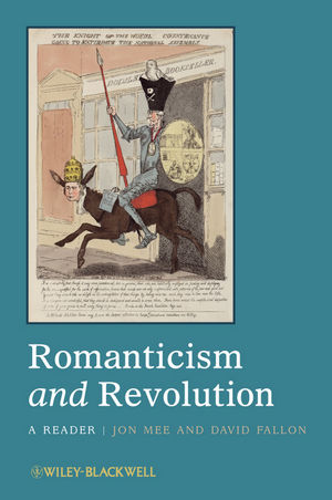 Romanticism and Revolution: A Reader (1444393499) cover image