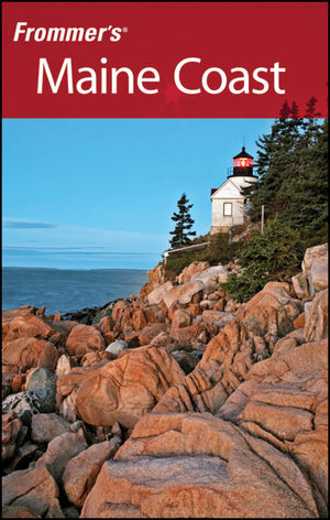 Frommer's Maine Coast book cover