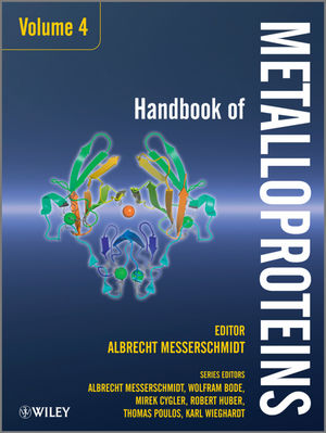 Handbook of Metalloproteins, 2 Volume Set, Volumes 4 & 5 (047071199X) cover image