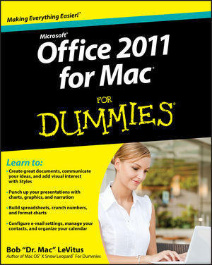 Office 2011 for Mac For Dummies