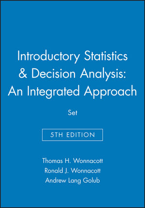 Introductory Statistics, 5e & Decision Analysis: An Integrated Approach Set (047133149X) cover image