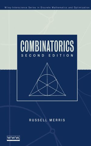 Combinatorics, 2nd Edition (047145849X) cover image