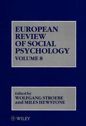 European Review of Social Psychology, Volume 8
