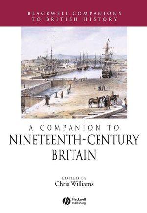 A Companion to 19th-Century Britain (063122579X) cover image