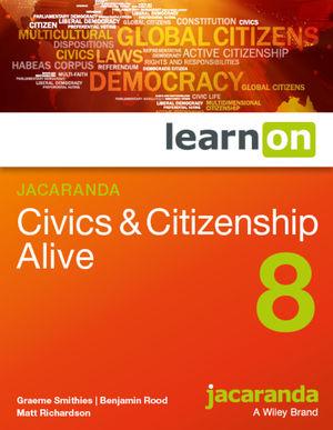 LearnOn Civics & Citizenship Alive 8 (Online Purchase)
