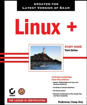 Linux+ Study Guide: Exam XK0-002, 3rd Edition (078214389X) cover image