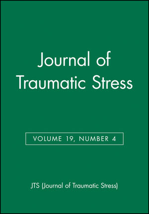 Journal of Traumatic Stress, Volume 19, Number 4