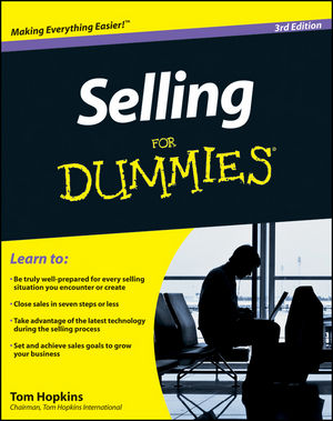 Selling For Dummies, 3rd Edition (111804729X) cover image