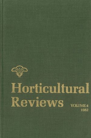 Horticultural Reviews, Volume 4