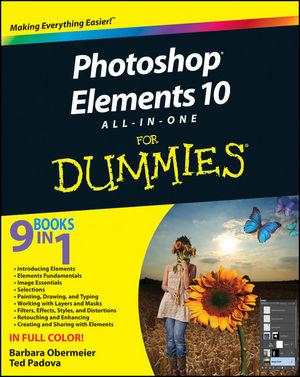 Photoshop Elements 10 All-in-One For Dummies (111810739X) cover image
