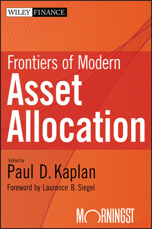 Frontiers of Modern Asset Allocation (111817299X) cover image