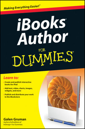 iBooks Author For Dummies (111837679X) cover image