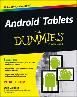 Android Tablets For Dummies (111854319X) cover image