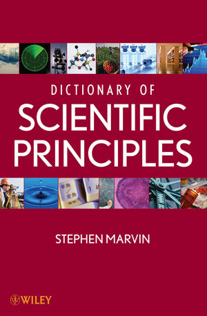 Dictionary of Scientific Principles  (111858239X) cover image