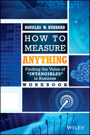 How to Measure Anything Workbook: Finding the Value of Intangibles in Business (111886039X) cover image