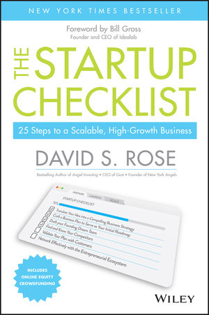 The Startup Checklist: 25 Steps to a Scalable, High-Growth Business (111916379X) cover image