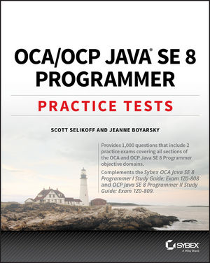 OCA / OCP Practice Tests: Exam 1Z0-808 and Exam 1Z0-809 (111936339X) cover image