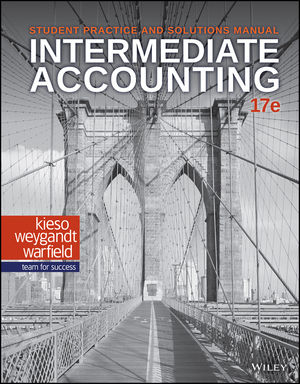 Intermediate Accounting, Student Practice and Solutions Manual, 17th Edition