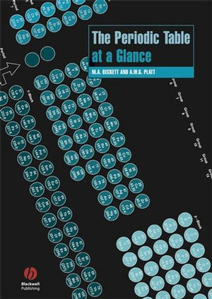 The Periodic Table at a Glance (140513299X) cover image
